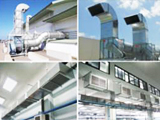 Design and installation of ventilation systems factory